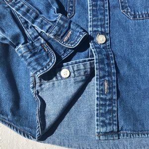 Levi's Shirts & Tops - Levi's Jeans Button Down Denim Shirt Size 4T